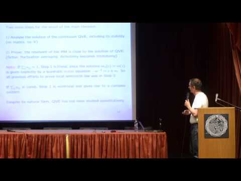 Laszlo Erdos - Spectral universality for a general class of matrices