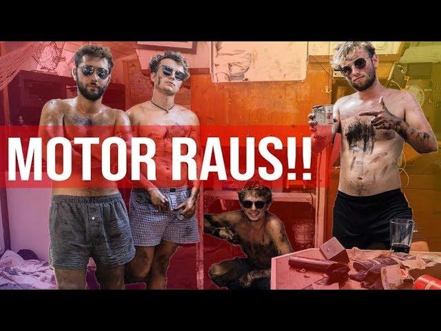 #046 | Der alte Motor muss RAUS!!!! [Segeljungs Weltumsegelung]