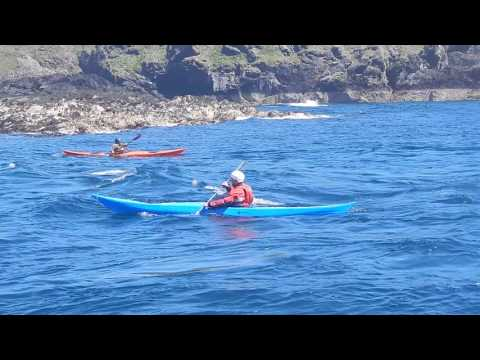 Sea Kayaking Isle of Man  moderate water