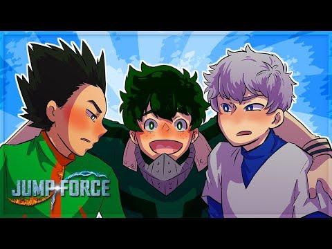 GON AND KILLUA MEET DEKU! (Jump Force Online Match) |