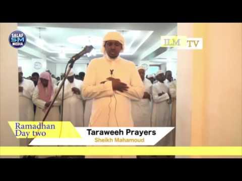 TARAWEEH PRAYERS IMAM MAKAROONI MASJID SOUTH C NAIROBI