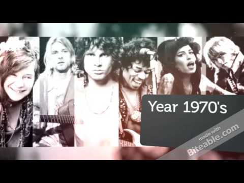 Musical Timeline of Rock & Roll Music