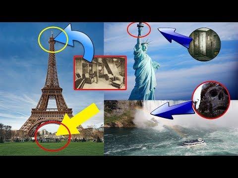 Hep Gözümüzün Önündeymiş |En Ünlü Yerlerde Gizlenmiş 6 Gizli Yer