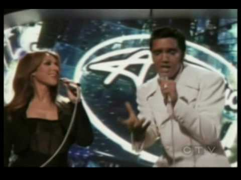 Elvis Presley and Celine Dion -  If I can dream