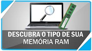 Como descobrir qual é sua MEMÓRIA RAM (DDR , DDR2 OU DDR3?)
