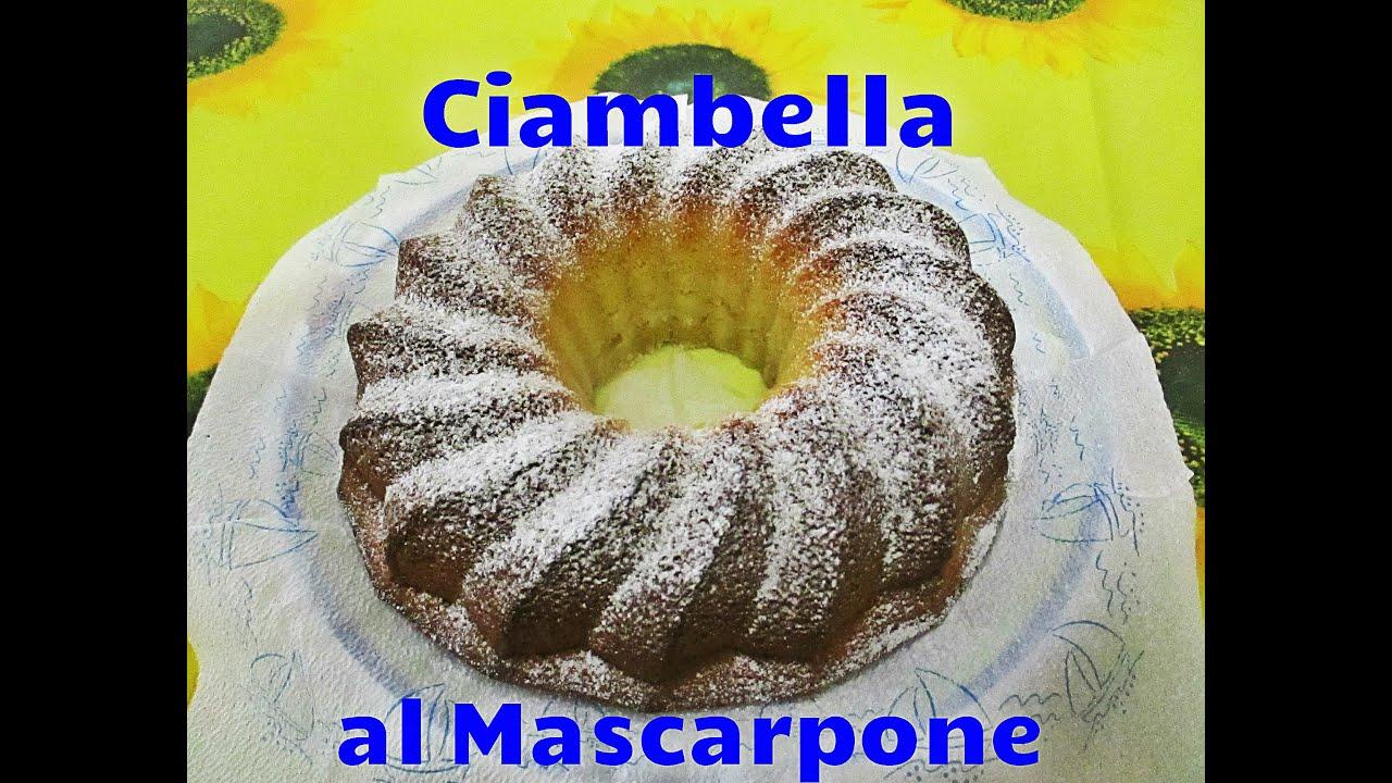 Ricette con mascarpone con bimby