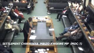 Zimbabwe parliament discusses corruption- Settlement Chikwinya and Joseph Chinotimba
