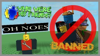 How 2 View Banned ROBLOX Players Friend List? (2016)