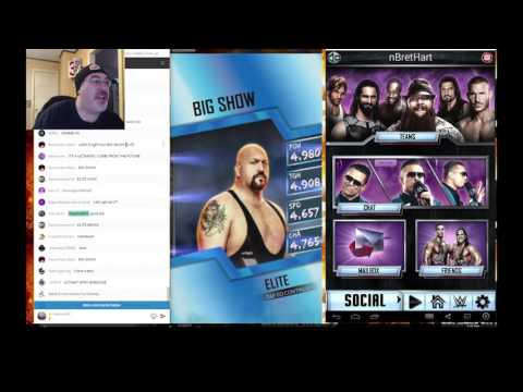 76500 Credit Opening!!! 17 Elite Packs!! BEST PACK LUCK EVER!! WWE Supercard #43