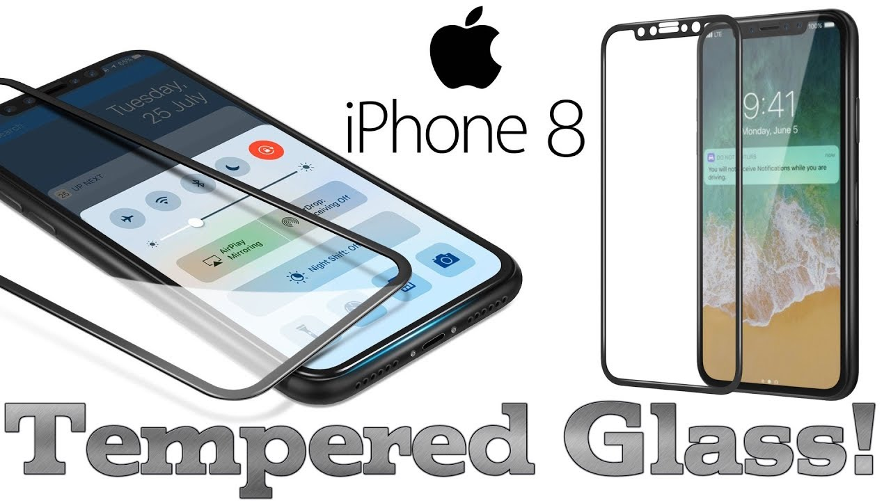 online retailer 14775 3ef14 iPhone X - Best 9H Tempered Glass Screen Protector For iPhone X!