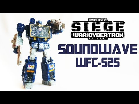 Обзор на TRANSFORMERS SIEGE - Soundwave (WFC-S25)