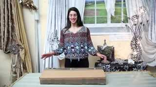 Drapery Hardware Diy - What's In The Box? | Large Venetian Scroll 3-piece Combo | Video #93