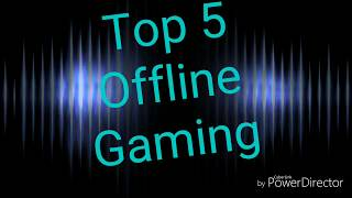 Top 5 offline games on [ Play Store]