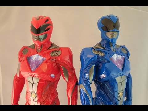 Power Rangers Movie 2017 Big Figures Review