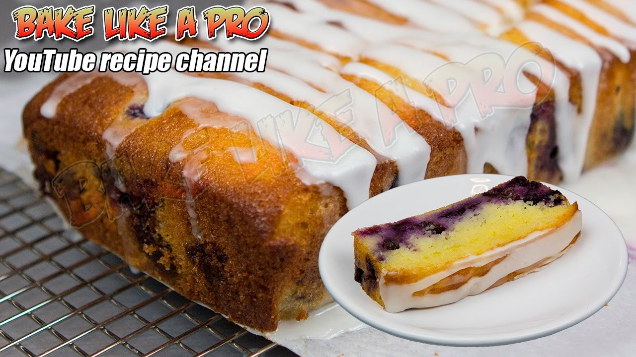 Cake Recipes In Otg Youtube: Easy Blueberry And Lemon Cake Recipe