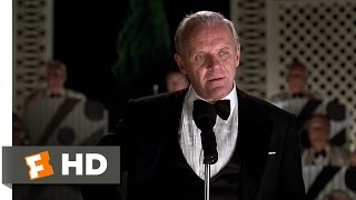 Meet Joe Black (10/10) Movie CLIP - Bill's Birthday Speech (1998) HD