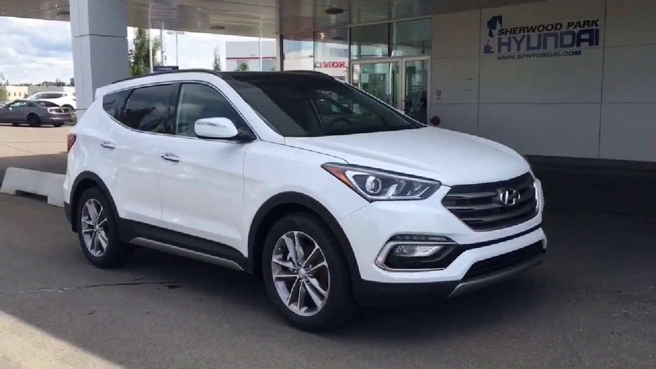 2017 hyundai santa fe sport 2 0t limited awd in depth walk around sherwood park hyundai. Black Bedroom Furniture Sets. Home Design Ideas