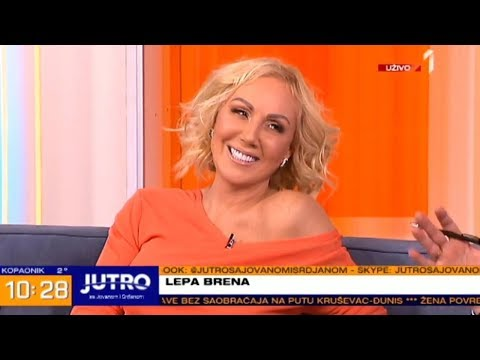 Lepa Brena - Intervju - Jutro sa Jovanom i Srdjanom - (Prva TV, 05.03.2018.)