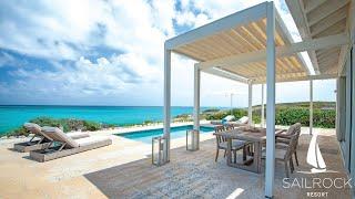 2-Bedroom Oceanfront Coral Villa   Sailrock Resort   Private Peninsula Villa   Turks & Caicos Resort
