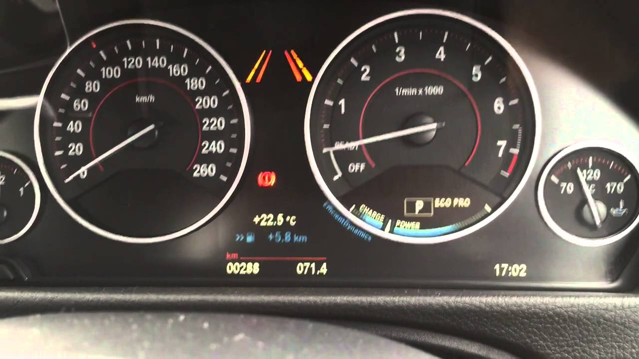 Bmw F30 328i Instrument Cluster Faulting Youtube