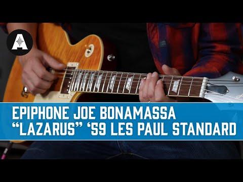 NEW Epiphone Joe Bonamassa Lazarus 1959 Les Paul Standard - Playing Only Demo!