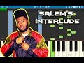Khalid - Salem's Interlude Piano Tutorial EASY (SUNCITY) Piano Cover Mp3