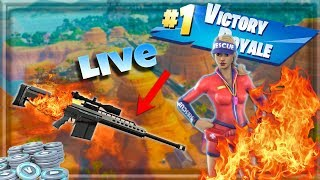 🔴live SUB SHOUTOUTS| NEW SNIPER!| FORTNITE|| No Skin, Carry Me| Road To 2.2k Subs|