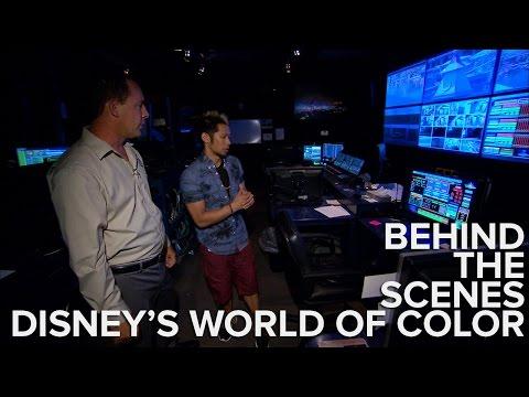 Backstage At Disney: Inside The Secret Control Room For World Of Color