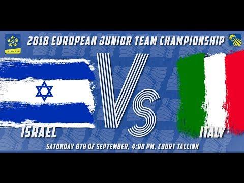 Israel vs Italy - Day 2 - 2018 European Jnr. Team C'ships
