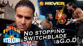 Rocky Romero battles Jay White! Tama Tonga and G.o.D seek competition! |Finish STRONG