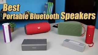 Best Portable Bluetooth Speaker 2015-2016 : Review of 9 Speakers + Sound Test