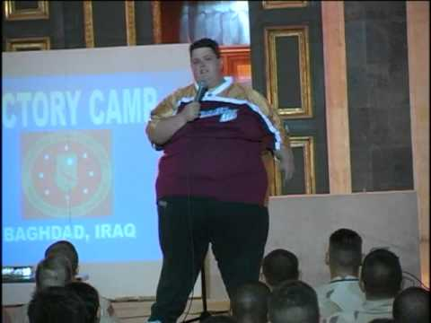 Ralphie May Stand Up In Iraq (from Just Correct CD)