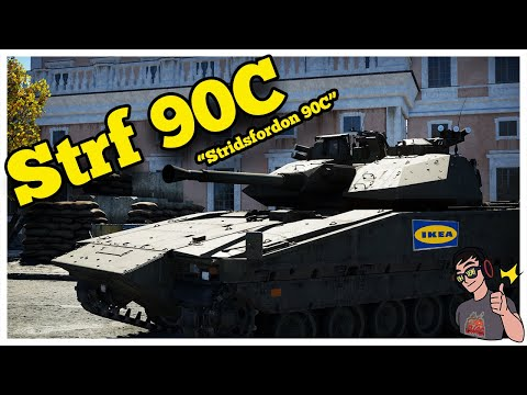 "War Thunder - Swedish Strf 90C ""IFV"" Mini IKEA Bias"