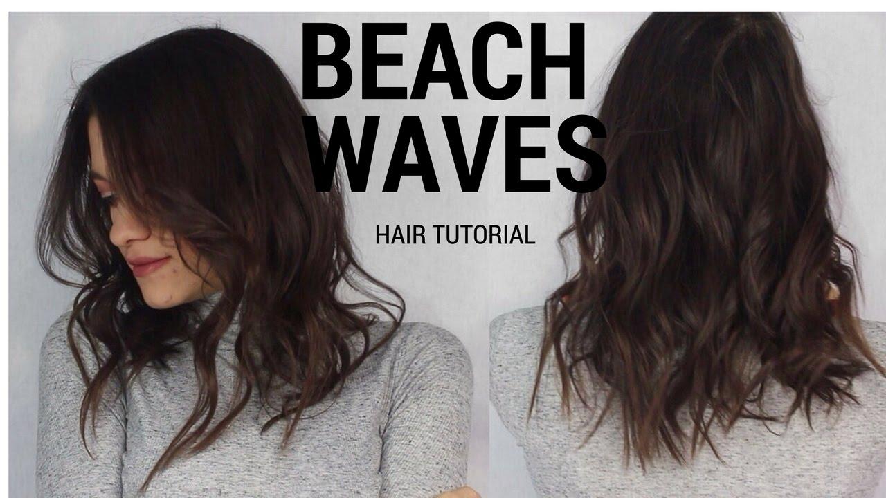 How to: Perfect Beach Waves Hair | Beachy waves Hair ...