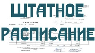 видео Образец приказа о внесении изменений в штатное расписание