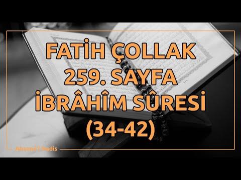 Fatih Çollak - 259 - İbrâhîm Suresi (34-42)