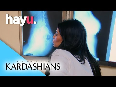 Kim's Butt X-Ray | Keeping Up With The Kardashians