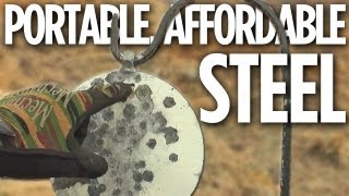 my portable affordable steel target system
