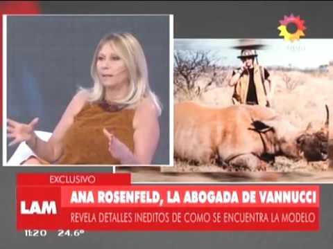 Ana Rosenfeld dijo que los animales que cazaron Victoria Vannucci y Matías Garfunkel estaban enfermos