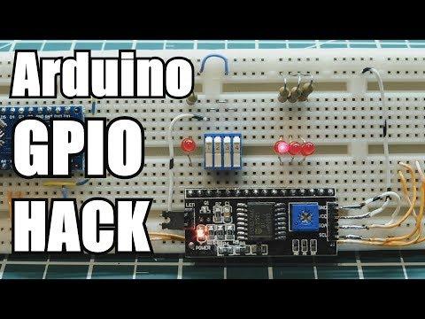 Arduino GPIO Pin Expansion Using I2C