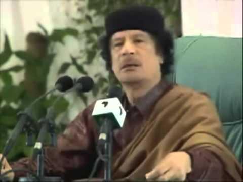 Sirte - Muammar Al Gaddafi speaks at Summit European Union and African Union - English