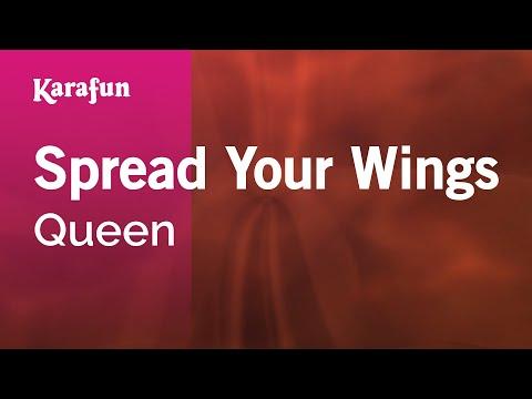Karaoke Spread Your Wings - Queen *