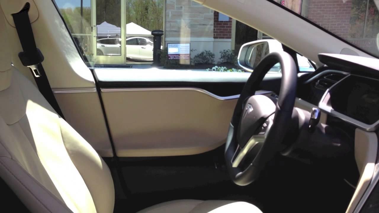 Tesla Model S Walkaround (w/Door Handles & Frunk) - YouTube