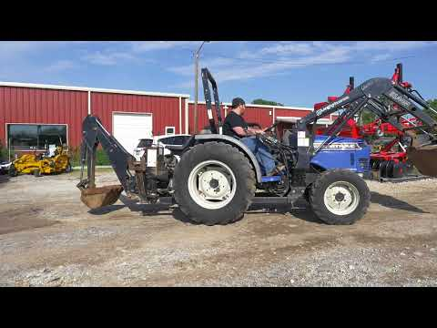 1998 Long Agribusiness FarmTrac 390HST - YouTube