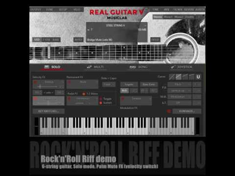 RealGuitar V Demo by MusicLab - distributed by Best Service