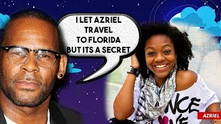 R Kelly Girlfriend finally spends time with family but its a secret