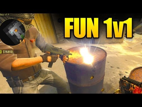 CSGO Fun 1v1 (Having Fun In Counter-Strike GO)