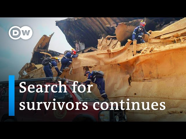 Beirut port destruction threatens Lebanon's food supply | DW News