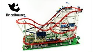 Lego Creator 10261 Roller Coaster - Lego Speed Build