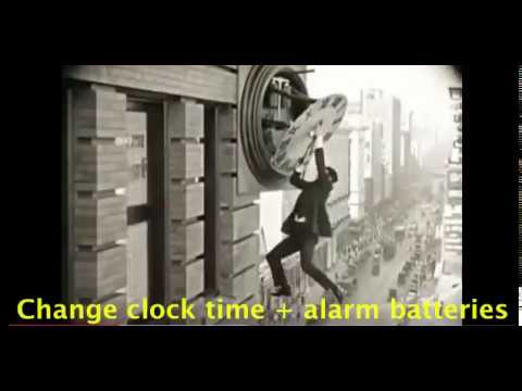 Ready for a change! Change clock time by 1 hr: spring forward and Fall back  15 sec